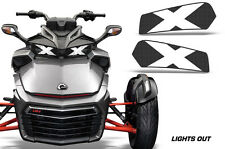 AMR Racing Head Light Eyes For Can-Am Spyder F3 Headlight Decals Part LIGHTS OUT