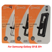 OEM Scooch Wingman Grip Mount Protective Case 5-in-1 For Samsung Galaxy S9 & S9+
