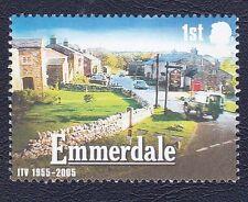 Emmerdale TV Series 2005 1st Class Stamp - MNH