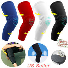 CFR Hex Leg Sleeves Extended Compression Support Knee Pads Pair NEW US STOCK AM