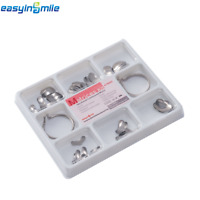1pack Dental Matrix Ring Sectional Contoured Metal Matrices Full kit EASYINSMILE