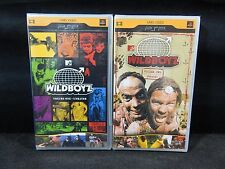 LOT OF (2) PSP UMD VIDEOS MTV WILDBOYZ VOLUME 1 & 2 UNRATED  **NEW**