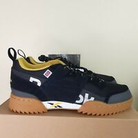 Reebok Classic Workout Plus Ripple Men's Shoes Black/Gold/Coal Size 11 DV7200