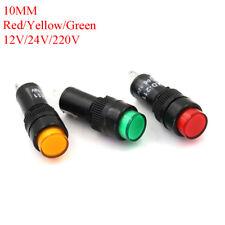 Led Pilot Panel Indicator Signal Warning Light Lamp Acdc 10mm Jhexaqi