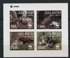 Sacha-Yakutia Birds Of Prey WWF MNH Imperf M/S #A68051