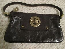 Marc by Marc Jacobs Brown Patent Leather Handbag / Wristlet