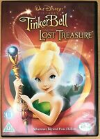 Tinker Bell and the Lost Treasure DVD 2009 Walt Disney Animated Film Movie