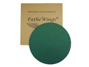 Felt Turntable Record Mat Vinyl Audiophile Slipmat MADE IN GERMANY 1 mm L Green