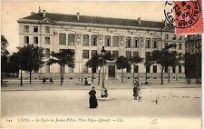 CPA Lyon-Le Lycée de Jeunes Filles, Place Edgar-Quinet (427182)
