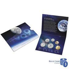 2019 50th Anniversary of Moon Landing Royal Australian Mint Six Coin Mint Set