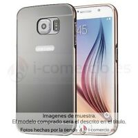 Funda Carcasa Metal Aluminio Bumper + Espejo Tapa para Samsung Galaxy S7/S7 Edge