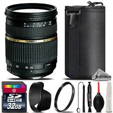 Tamron 28-75mm f/2.8 XR Di LD Lens For Canon T5, T5i, T6, T6s - 32GB Saving Kit