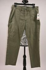 Hudson Jeans Women's Olive The Leverage High-Rise Ankle Cargo Size 28
