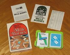 Mille Bornes - 1971 Parker Brothers French Card Game - Complete & Nice
