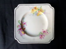 Royal Doulton. Orchid. Small Sandwich or Cake Plate. D5215. Made In England.