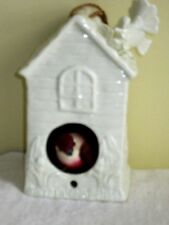 "Birdhouse Ceramic by Albert E. Price Size is 7"" x 3.5"" x 3"" Excellent."