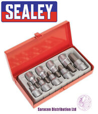"""SEALEY AK620 HEX SOCKET BIT SET 9PC 1/2""""SQ DRIVE"""