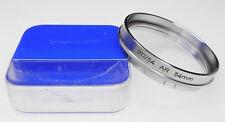 Voigtlander 317/54 UV filter for 50mm f2 Septon .......... MINT w/Case