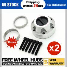 For Nissan Patrol GQ GU Y60 Y61 Auto to Manual Free Wheeling Hubs Hub Conversion