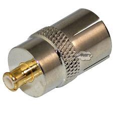 IEC Dvb-t TV PAL Female to MCX Male Plug RF Coax Adapter Converter Top Quality