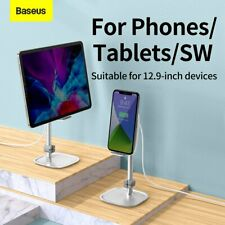 Baseus 15W Qi Wireless Charger Fast Charging Dock Desktop Mount Tablet Stand