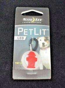 "Nite Ize Innovation - PetLit LED Clip on Light ""Fire Hydrant"" Dog/Pet Accessory"
