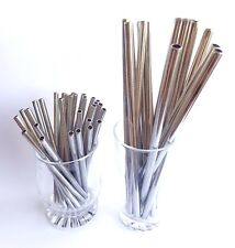 NEW Cocktail Metal Straw   Sustainable Stainless Steel Reusable Straws