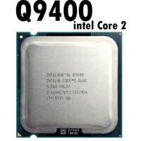 Intel Core 2 Quad Q9400 2.6 GHz Quad-Core CPU Processor 6M 95W 1333 LGA 775 45nm