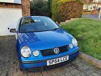 Volkswagen, POLO, Hatchback, 2004, Manual, 1390 (cc), 3 doors