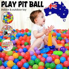 1-100pcs Soft Plastic Ocean Balls 5.5cm Baby Kids Swim Pool Play Pit Ball Toy AU