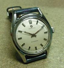 Orologio CERTINA WATCH monoblocco acc/fondo vite-autom- cs.2 pz.-- '60- 36 mm.