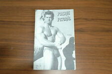 PHYSIQUE PICTORIAL VOL12 #1 50s VINTAGE MAGAZINE BOYS ART BEEFCAKE GAY MALE NUDE