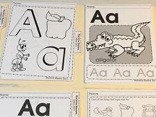 Printed Worksheets 300+ pgs Preschool Kindergarten Letters & Numbers Sets