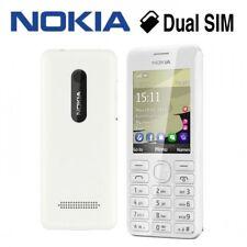NOKIA ASHA 206 Dual Sim-Bianco (Sbloccato) Cellulare Nuovo