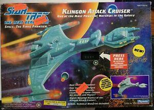 1993 Playmates Star Trek The Next Generation Klingon Attack Cruiser Ship opened