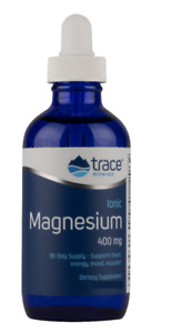 Trace Minerals Research, Ionic Magnesium, 400 mg, 2 fl oz (59 ml) New packaging