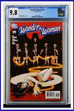Wonder Woman #40 CGC Graded 9.8 DC March 2010 White Pages Comic Book