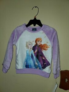 Anna And Elsa 2T Sweatshirt super soft
