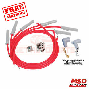 MSD Spark Plug Wire Set for Plymouth 1989-1995 Acclaim