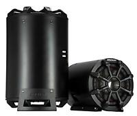 "KICKER CWTB102 Kompakte Bass-Tube  25 cm 10"" Subwoofer  Passiv-Reflex-Radiator"