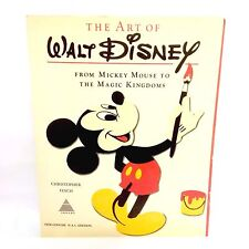 Vintage The Art Of Walt Disney 1975 Book Christopher Finch Mickey Mouse