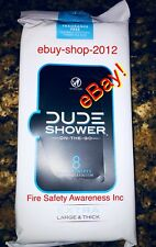 DUDE WIPES QUICK SHOWER WIPES NEW CASE of 12 PACKS! 🚿 ebuy-shop-2012🚨
