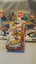 WWE Rumblers SHEAMUS REY MYSTERIO APPTIVITY CM PUNK TOY GAME