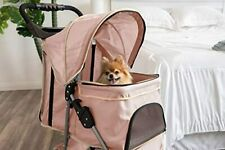 Dog Stroller - Pet Strollers for Small Medium Dogs & Cats - 3 Wheele,Paws & Pals