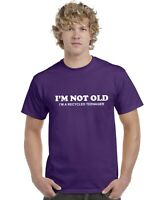 I'm Not Old I'm A Recycled Teenager Adults T-Shirt Funny Tee Top Mens Womens