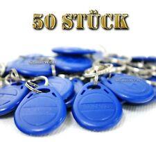 50x RFID Transponder EM4100 Schlüsselanhänger Wasserdicht Zutrittskontrolle