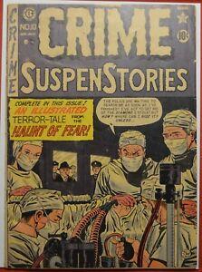 Crime SuspenStories #10 1952 G/VG 3.0 EC Comics Pre-Code Al Feldstein Photo