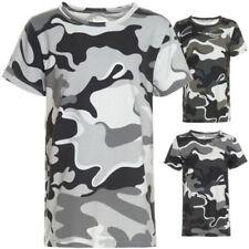 Markenlose Jungen-T-Shirts & -Polos aus Baumwollmischung in Größe 116