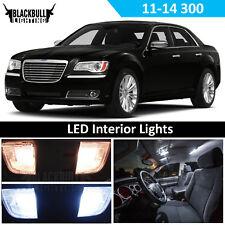 White LED Interior Lights Replacement Kit for 2011-2014 Chrysler 300 17 bulb
