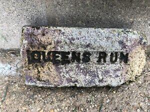Antique Vintage Reclaimed Sea Brick 100 Year Old Brick Quensrun